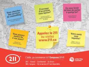 National 211 - Facebook -Health- French