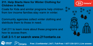 Twitter HSH Coats for Kids
